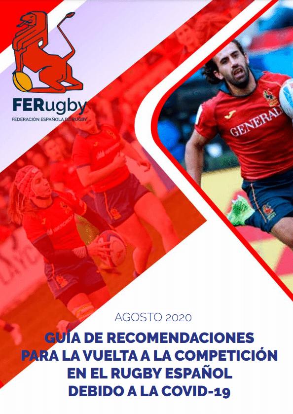 Guía de recomendaciones para la vuelta a la competición en el rugby español debido a la covid-19