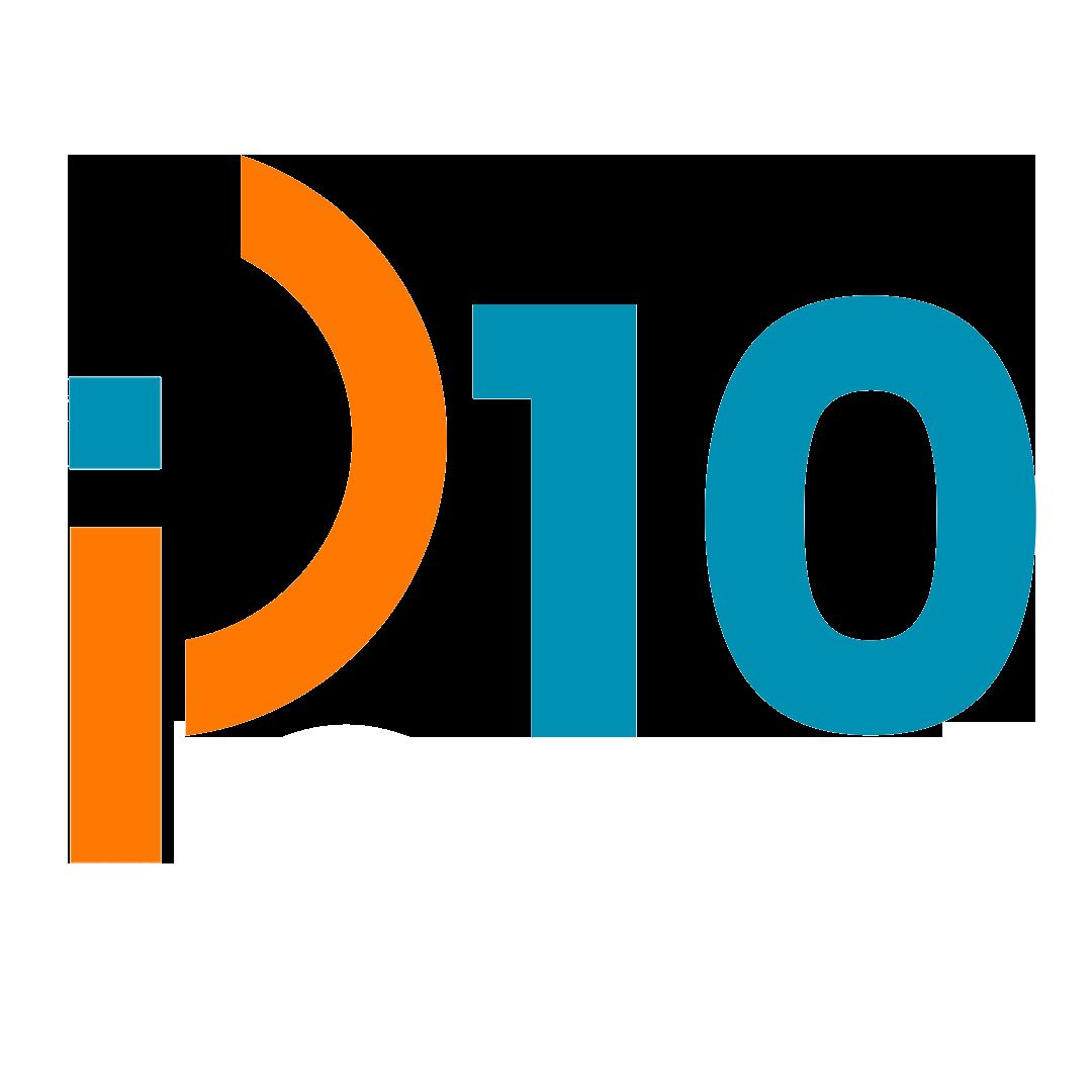 logo ip10 agencia de servicios digitales