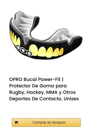 OPRO Bucal Power-Fit | Protector De Goma para Rugby, Hockey, MMA y Otros Deportes De Contacto, Unisex