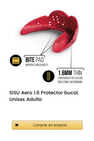 SISU Aero 1.6 Protector bucal, Unisex Adulto