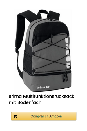 erima Multifunktionsrucksack mit Bodenfach - Mochila de Senderismo