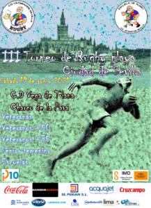 III Torneo Ciudad de Sevilla Rugby Playa en CD Vega de Triana