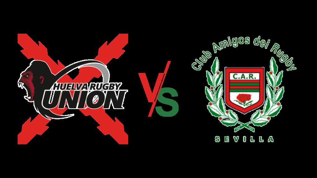 Huelva rugby unión contra club amigos del rugby sevilla
