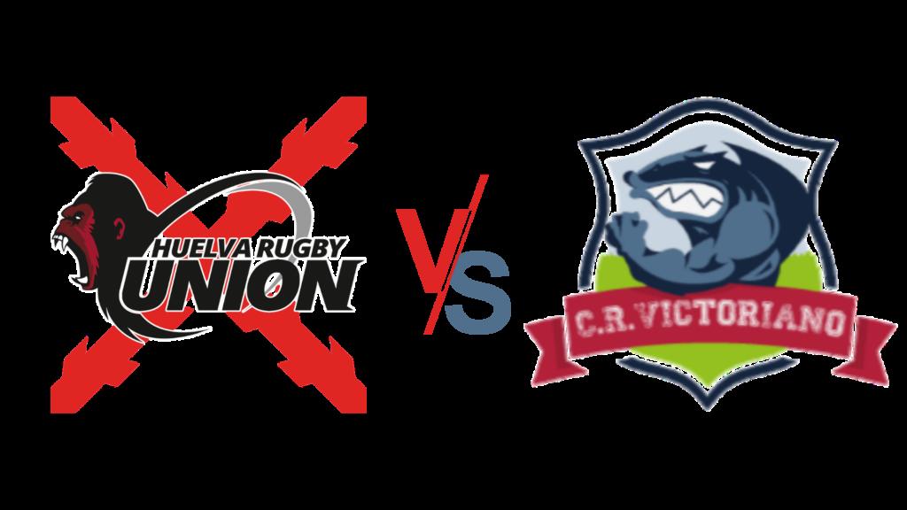 Huelva rugby unión contra club de rugby victoriano
