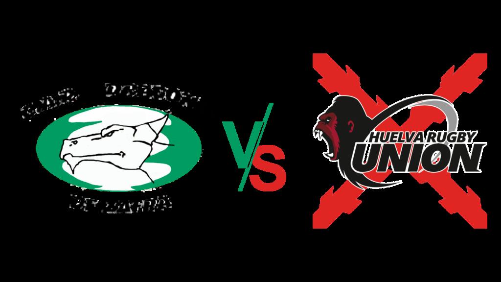 CAR Dragones de Zafra contra Huelva rugby unión