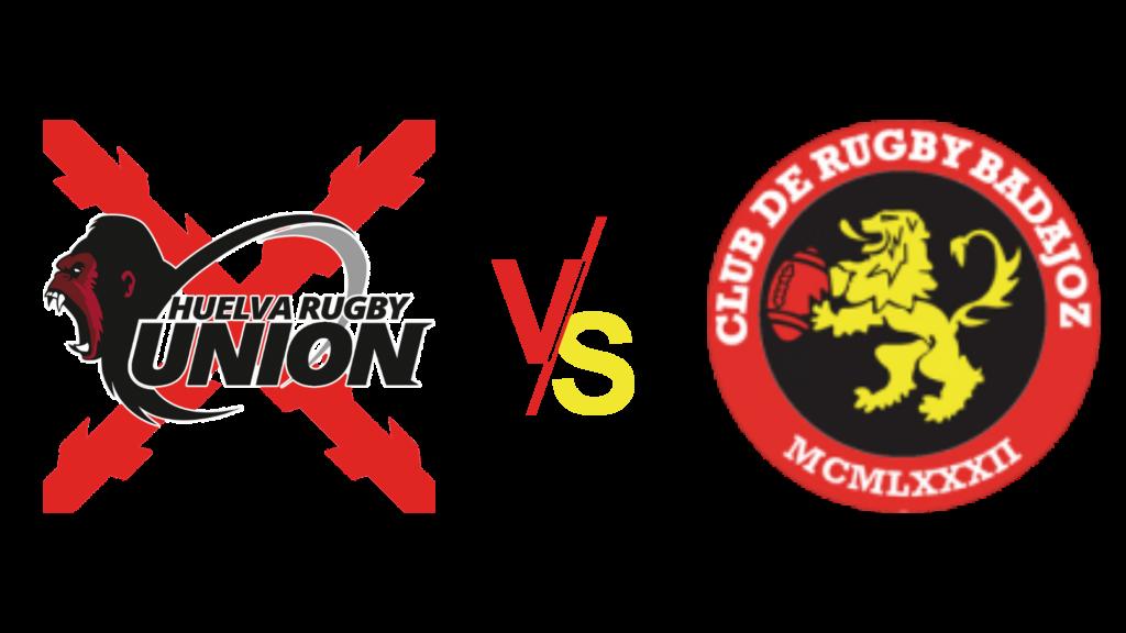 Club de rugby badajoz contra Huelva rugby unión